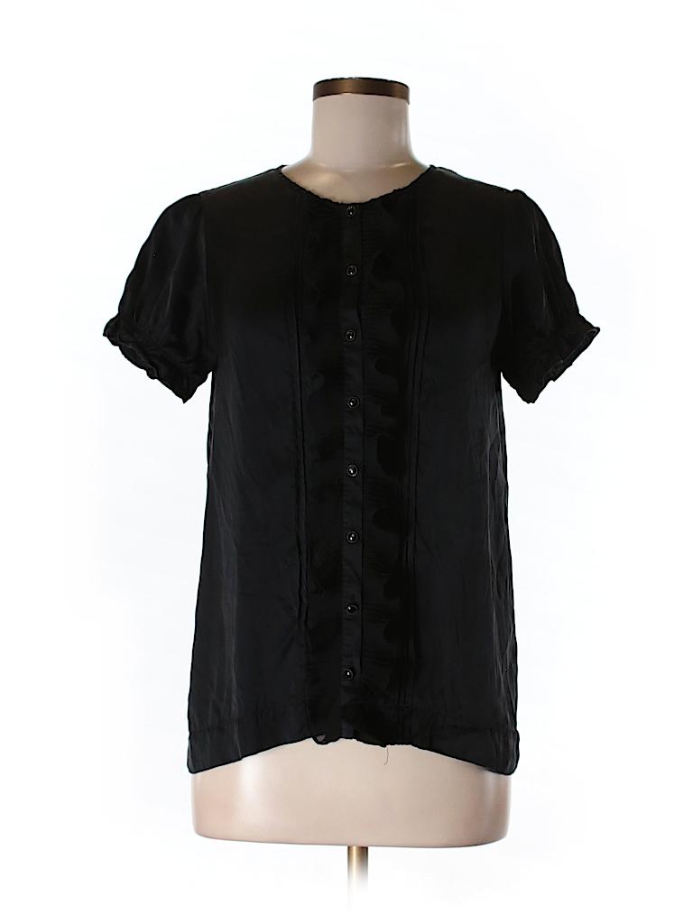 Joie Women Short Sleeve Blouse Size S