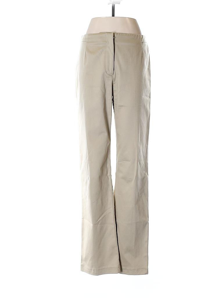 72b5152b434 Ann Taylor LOFT Solid Tan Khakis Size 6 - 81% off
