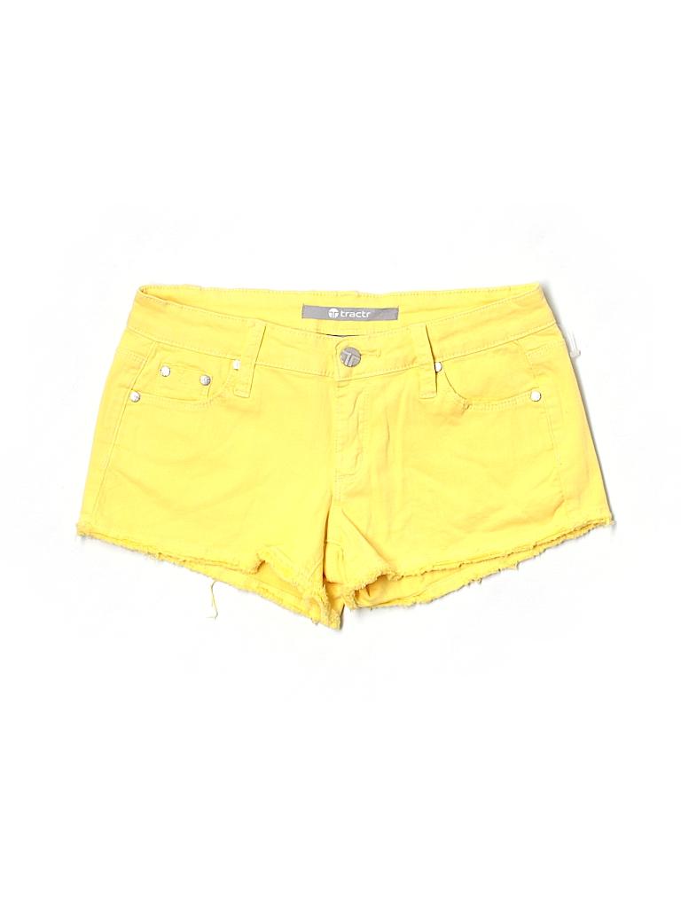 Tractr Women Denim Shorts 25 Waist