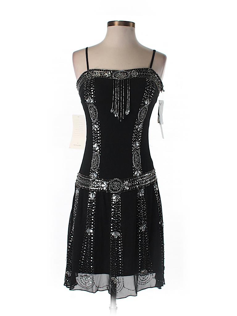 Sue Wong Women Silk Dress Size 6 (Petite)