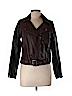 H&M Women Faux Leather Jacket Size 10