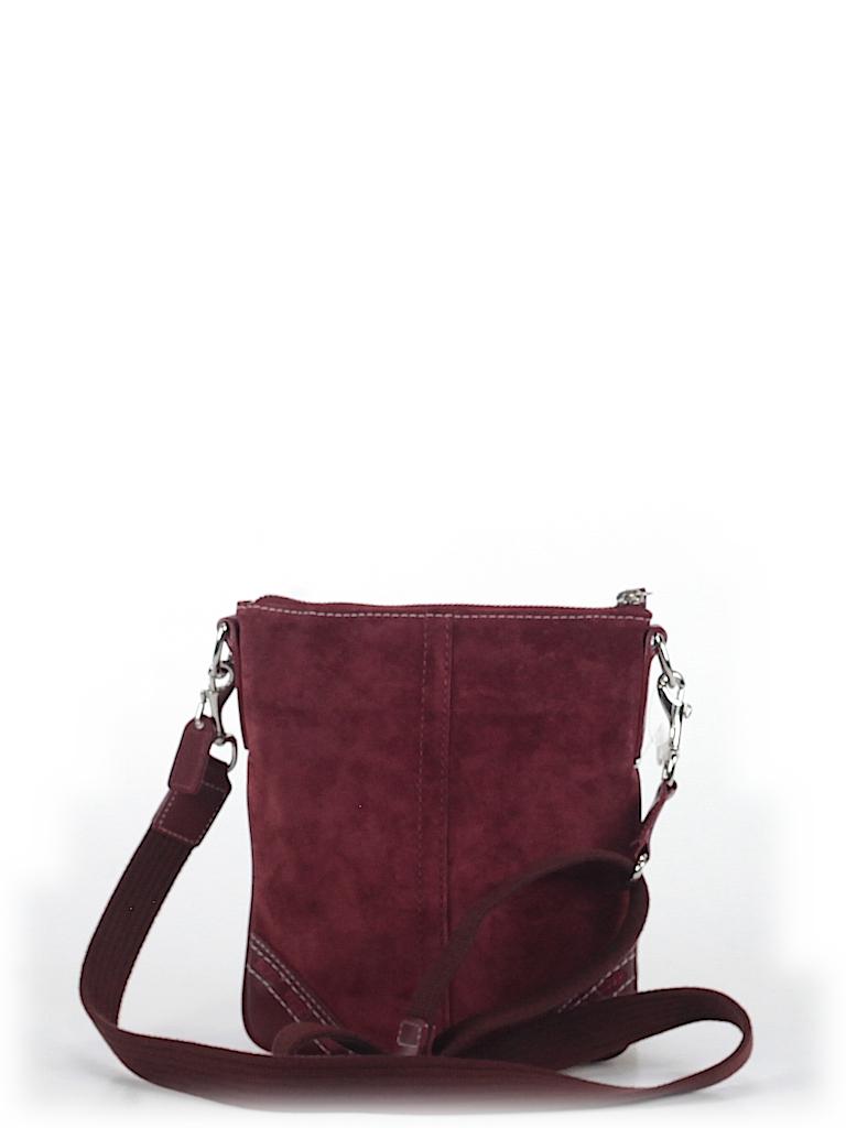 Coach Solid Burgundy Crossbody Bag One Size - 64% off  48fc9718040f0
