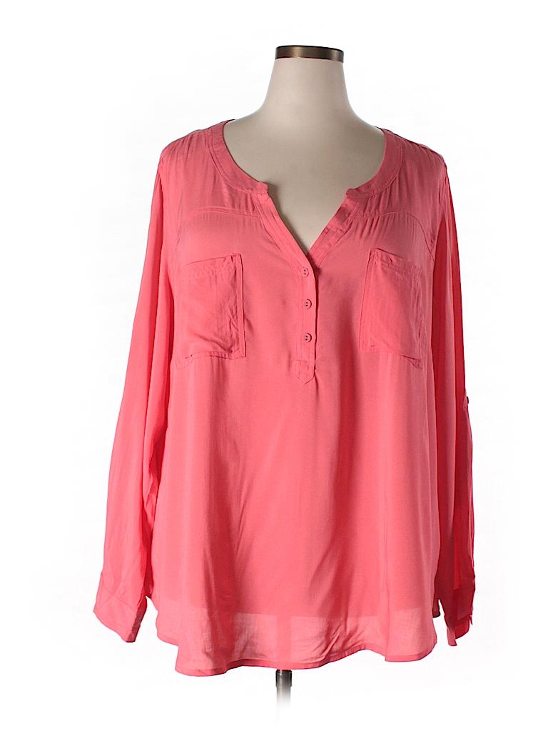 Torrid Women Long Sleeve Blouse Size 4