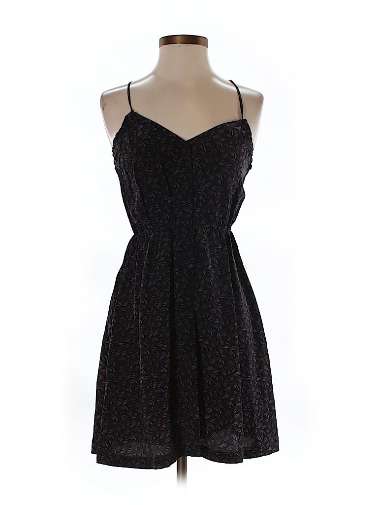 Ecote Women Sleeveless Silk Top Size M