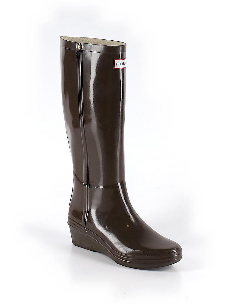 Hunter Women Boots Size 6