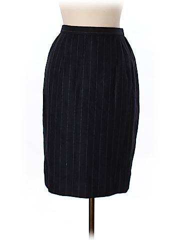 Badgley Mischka Wool Skirt Size 8