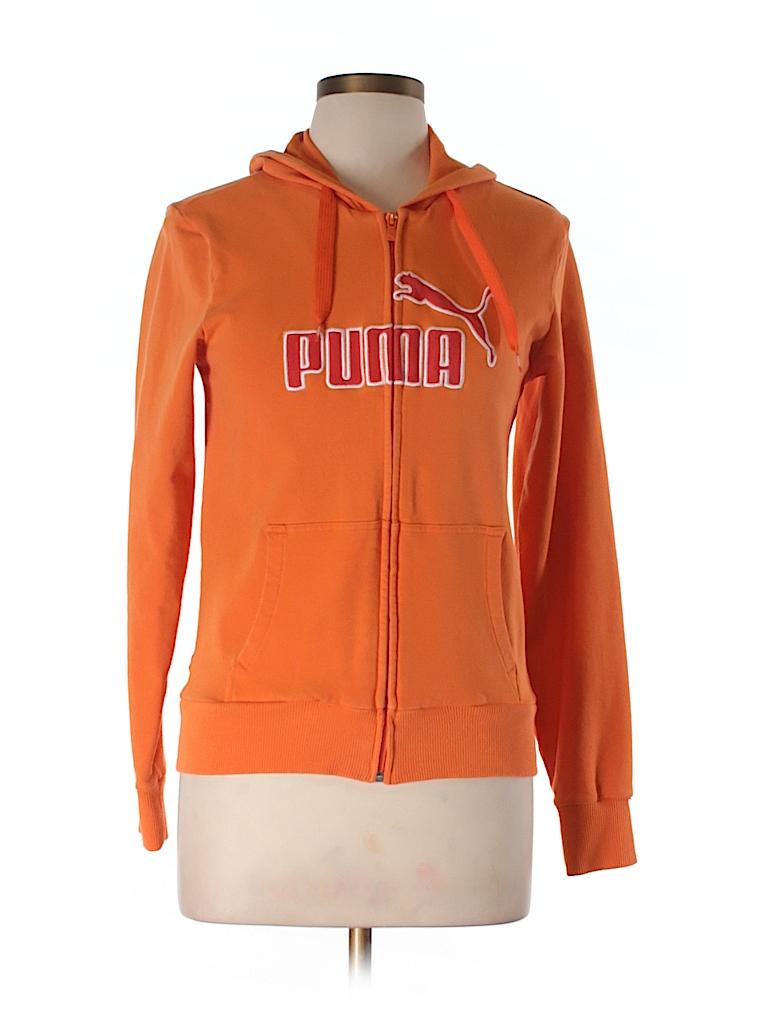 Puma Women Zip Up Hoodie Size L