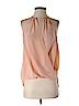 Amanda Uprichard Women Sleeveless Silk Top Size P