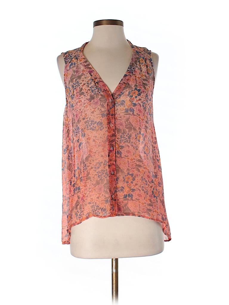 Gypsy 05 Women Sleeveless Silk Top Size XS