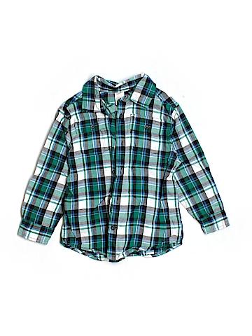 Gymboree Long Sleeve Button-Down Shirt Size 3-4