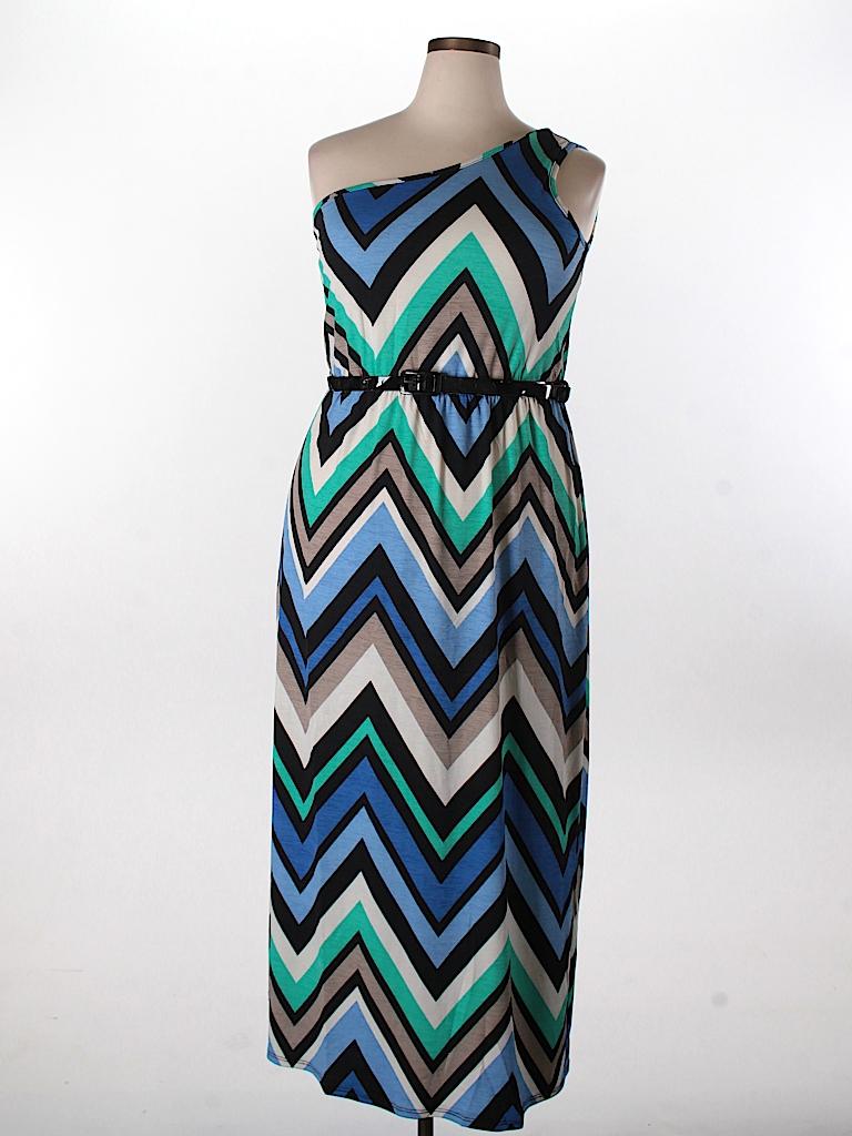 Zenobia Women Casual Dress Size 3X (Plus)