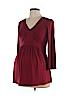 Bump Start by Motherhood Maternity Women 3/4 Sleeve Blouse Size M (Maternity)