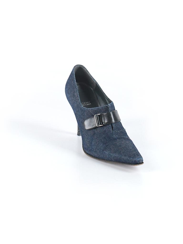 Stuart Weitzman Women Ankle Boots Size 8 1/2