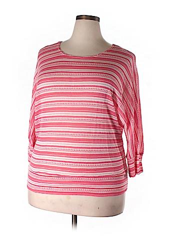 Zenobia 3/4 Sleeve Top Size 3X (Plus)