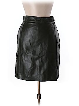 Gianfranco Ferre Faux Leather Skirt Size 42 (IT)
