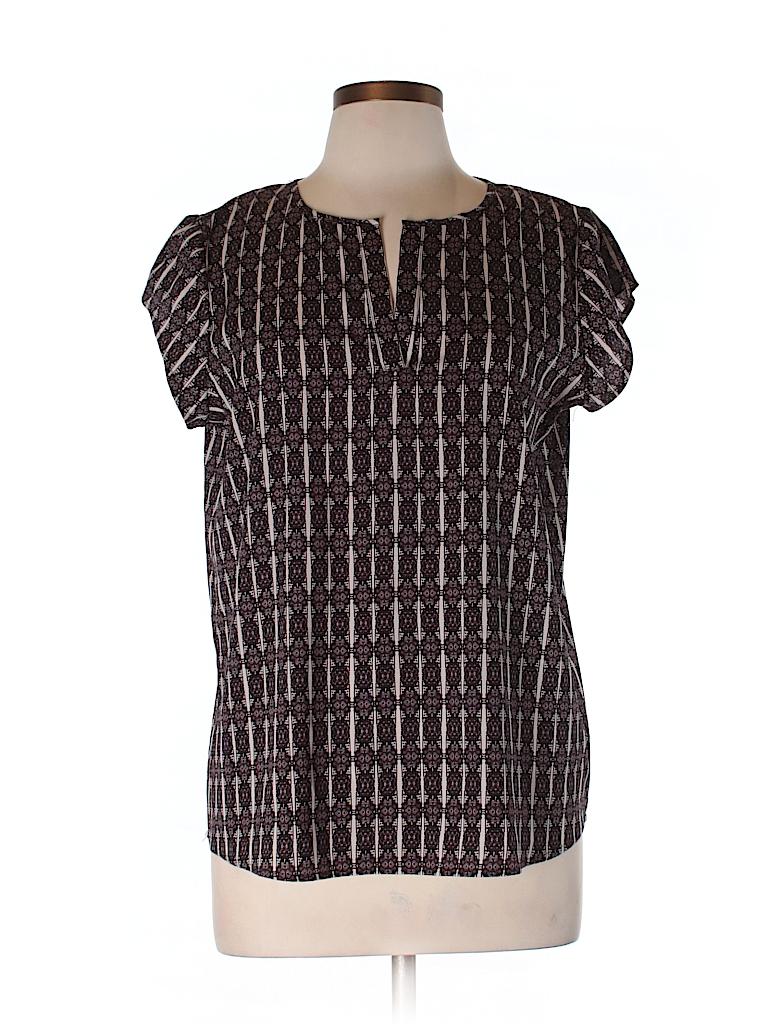 Ivanka Trump Women Short Sleeve Blouse Size M