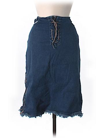 Star Denim Skirt Size 11/12
