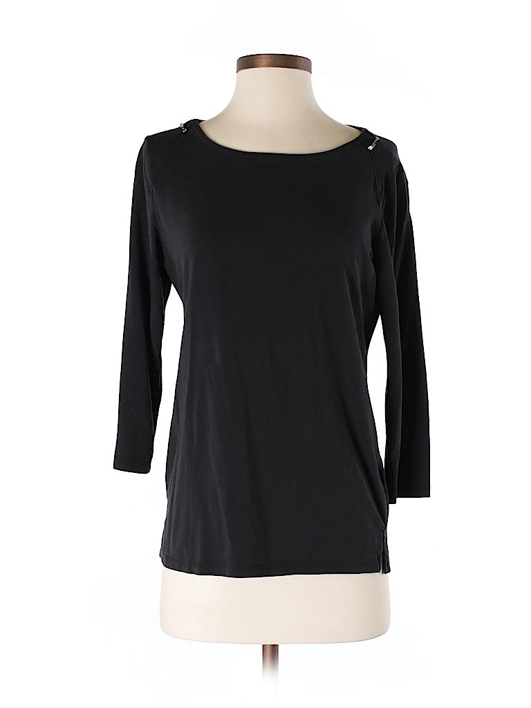 MICHAEL Michael Kors Women 3/4 Sleeve T-Shirt Size M