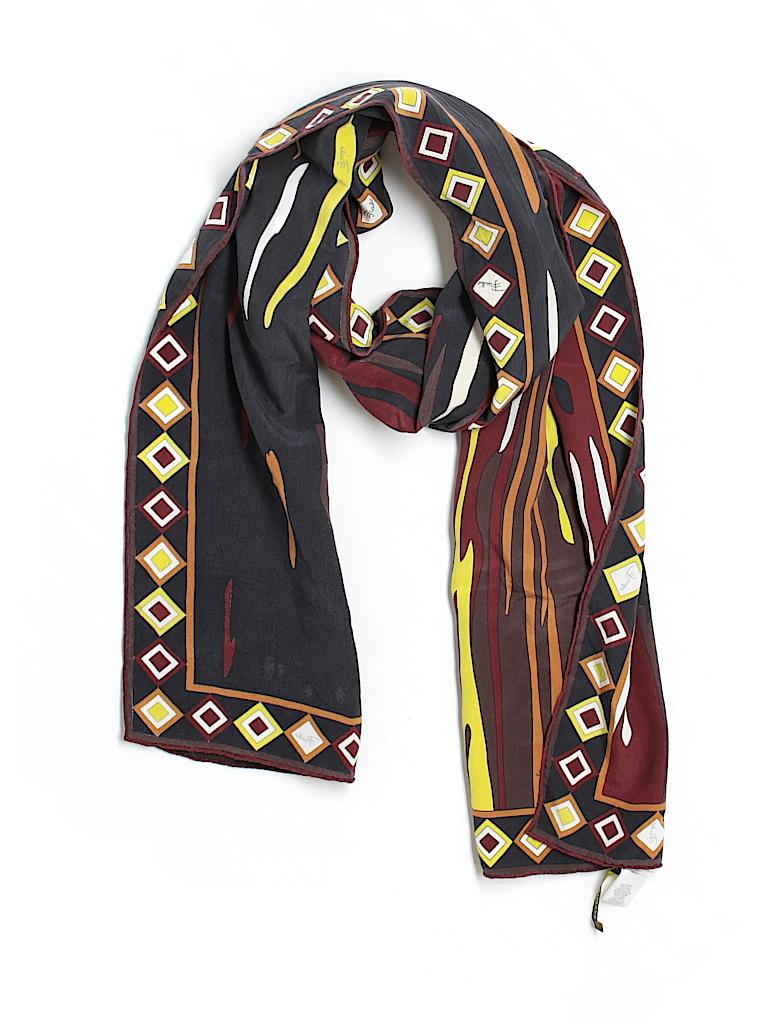Emilio Pucci Women Silk Scarf One Size