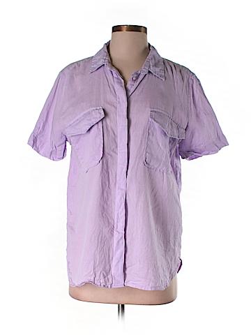 Joe Fresh Short Sleeve Button-Down Shirt Size 1