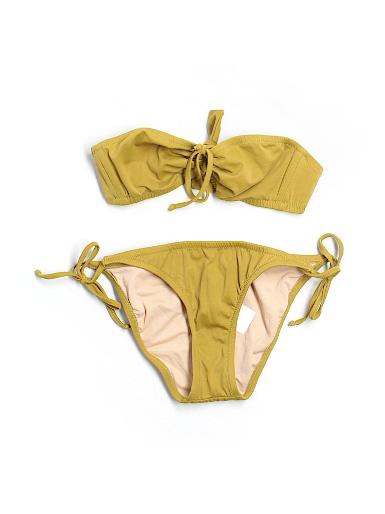 J. Crew Women Two Piece Swimsuit Size M