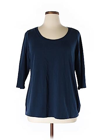 Cynthia Rowley for T.J. Maxx 3/4 Sleeve T-Shirt Size 2X