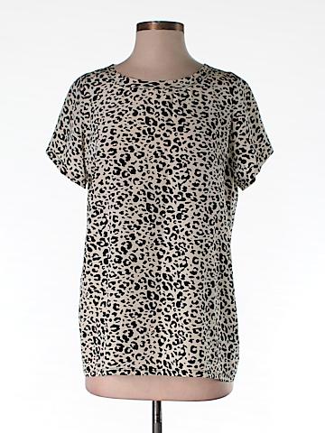 AKA New York Short Sleeve Silk Top Size XS
