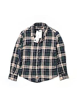 La Miniatura Long Sleeve Button-Down Shirt Size 4T