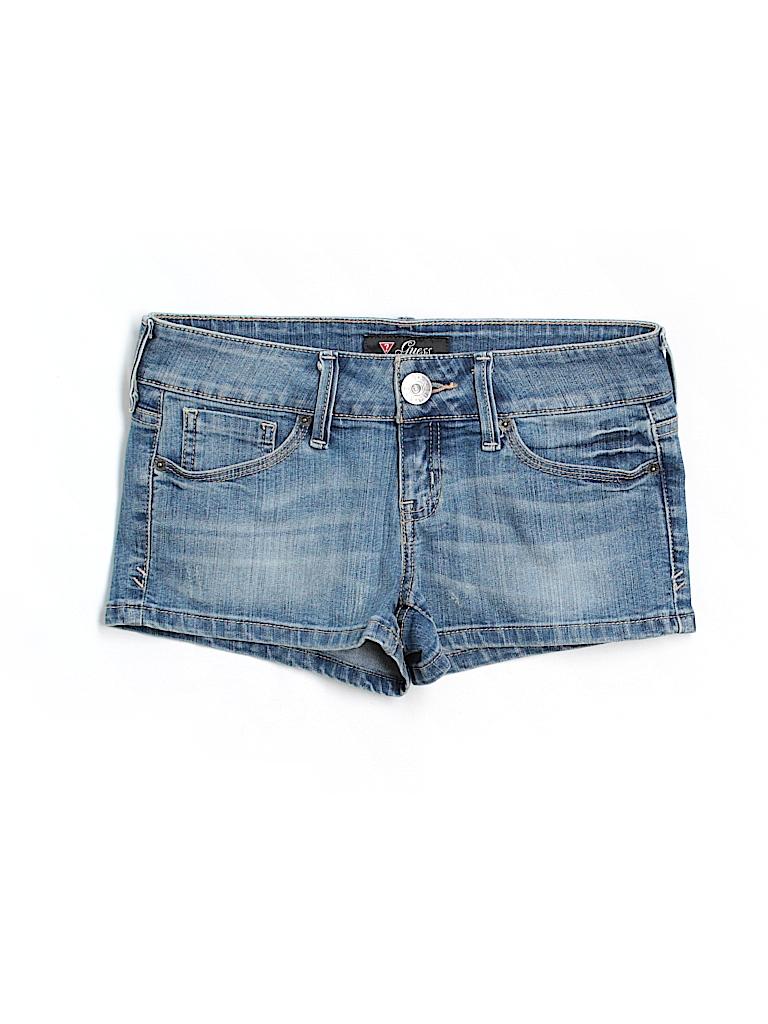 Guess Women Denim Shorts 26 Waist