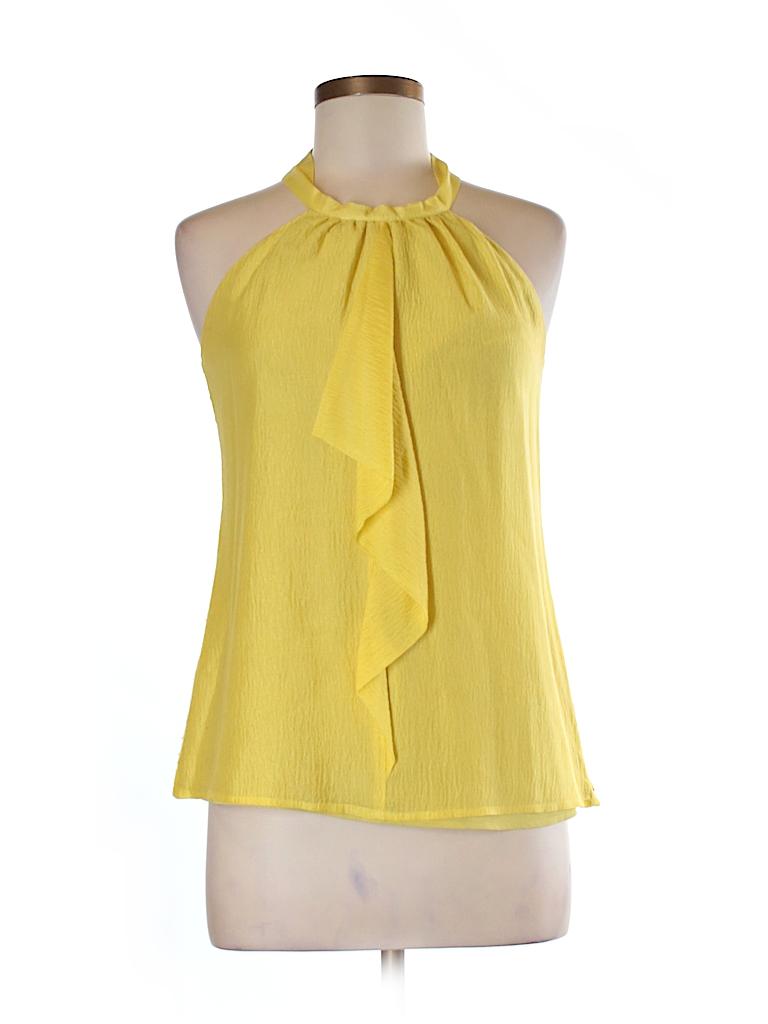 Ann Taylor LOFT Women Sleeveless Silk Top Size 2