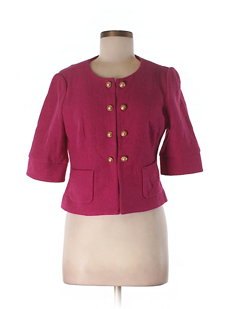 Ann Taylor LOFT Women Wool Blazer Size M