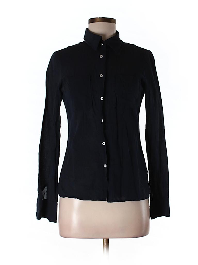 Tory burch long sleeve button down shirt 79 off only on for Tory burch button down shirt