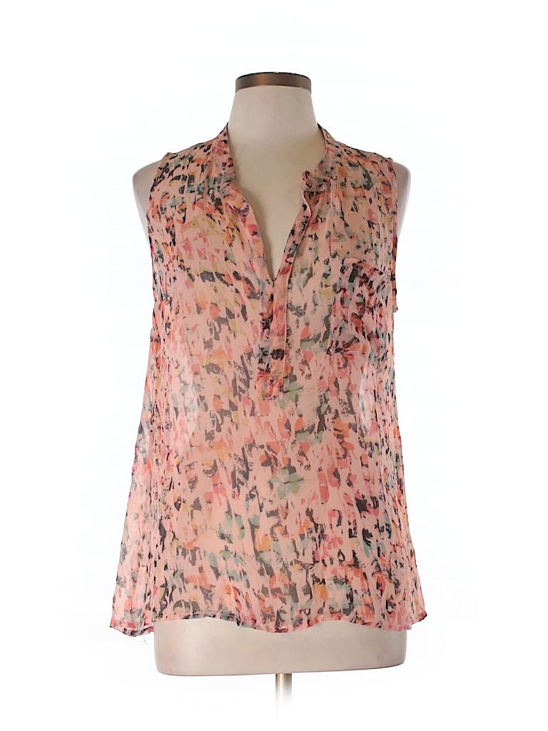 Gypsy 05 Women Sleeveless Silk Top Size L
