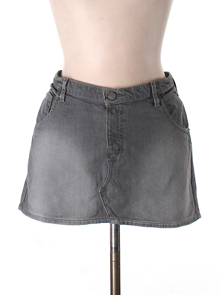 abercrombie fitch denim skirt 98 only on thredup