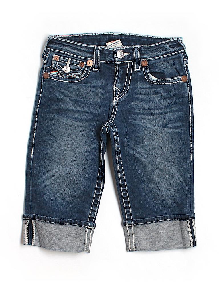 True Religion Women Denim Shorts Size 2