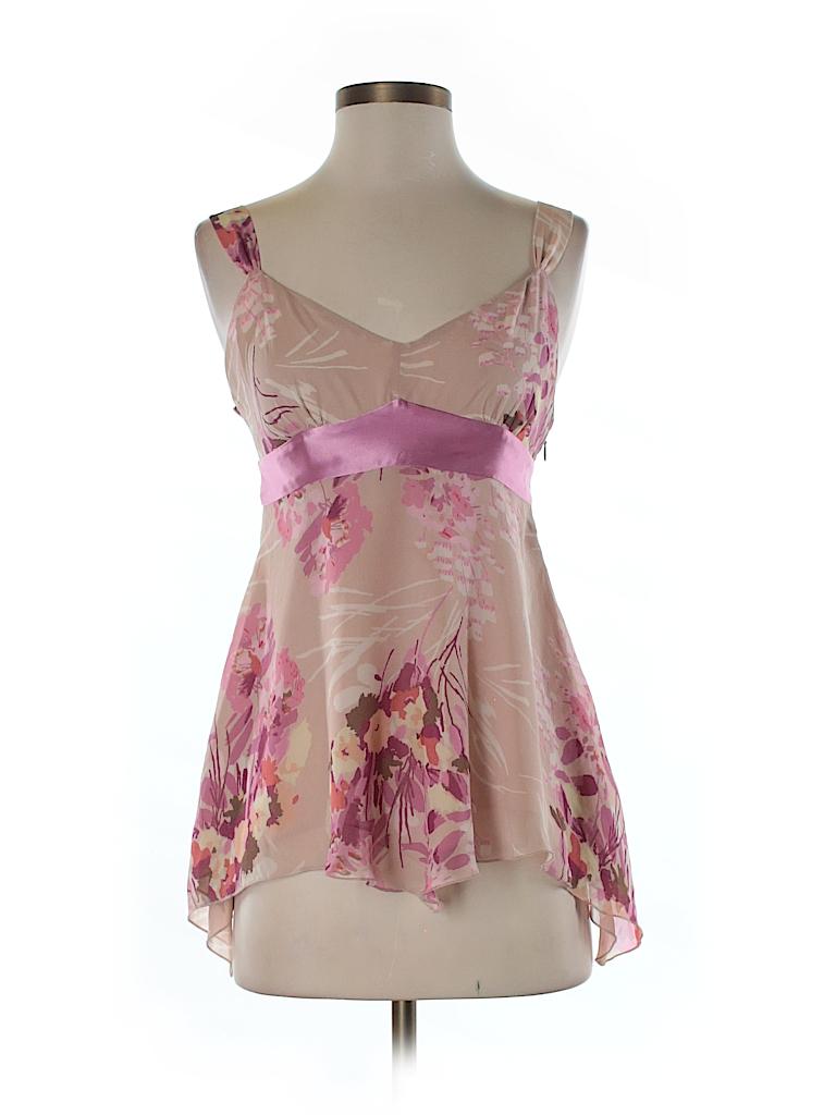 Gap Women Sleeveless Silk Top Size 4