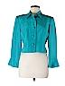 Nina Leonard Women Silk Blazer Size 6