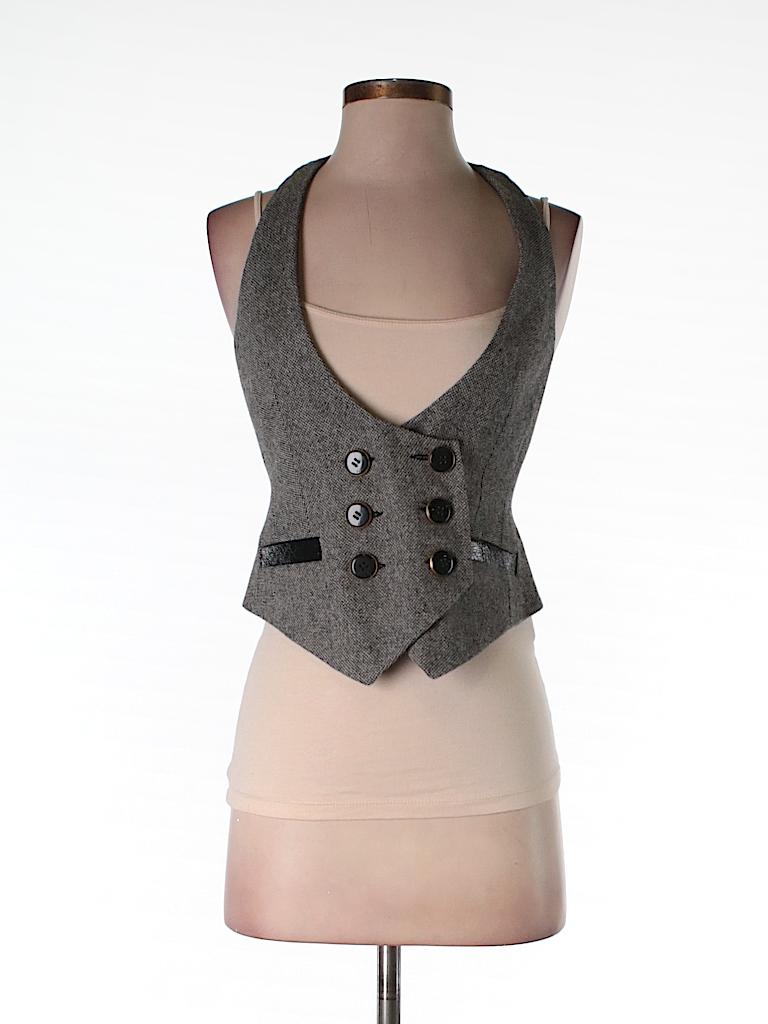 Express Women Tuxedo Vest Size 2
