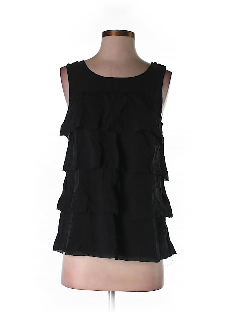 J. Crew Women Sleeveless Silk Top Size 0