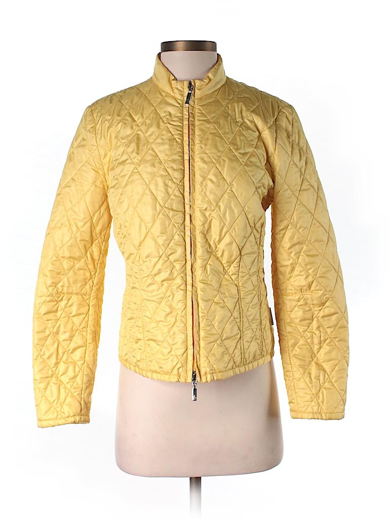moncler yellow jacket