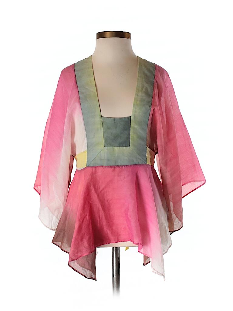 BCBGMAXAZRIA Women 3/4 Sleeve Blouse Size XS