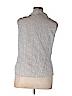 Tribal Women Sleeveless Button-Down Shirt Size 16