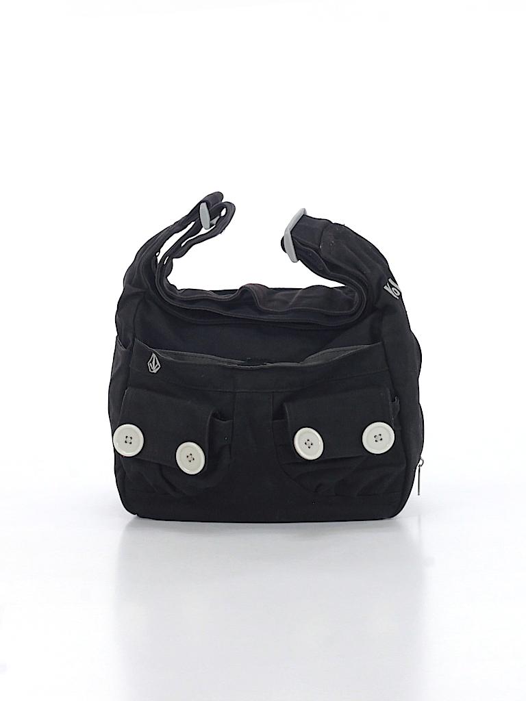 a87ebdede0dd Volcom Solid Black Crossbody Bag One Size - 55% off