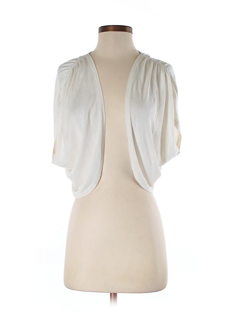ed9af5bce5730 Ann Taylor LOFT 100% Silk Solid White Sleeveless Silk Top Size S ...