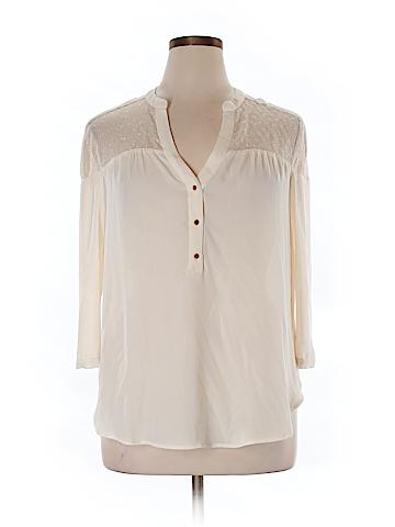 Maeve 3/4 Sleeve Blouse Size 14
