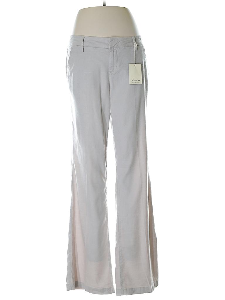 Level 99 Women Linen Pants 29 Waist