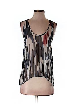 Waverly Grey Sleeveless Blouse Size S