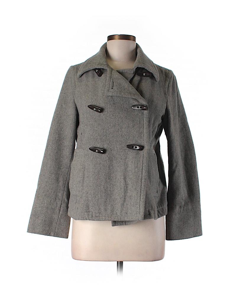 Old Navy Women Wool Coat Size M