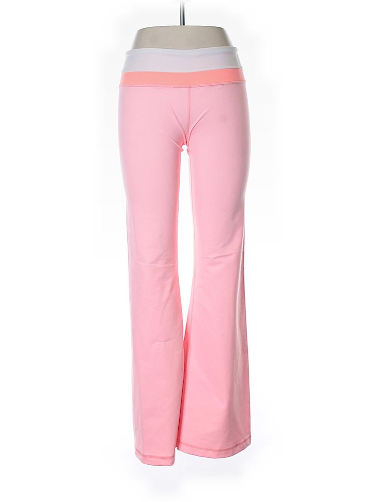 Lululemon Athletica Solid Light Pink Yoga Pants Size 10 57 Off