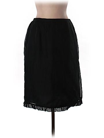 Lord & Taylor Silk Skirt Size L